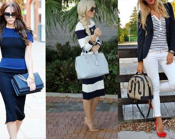 Αποκτήστε μια τσάντα με Navy Chic style!