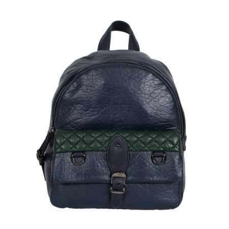 backpack blue trussardi