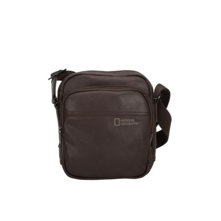ΤΣΑΝΤΑ ΩΜΟΥ BROWN UTILITY BAG NATIONAL GEOGRAPHIC N00802-33 BROWN