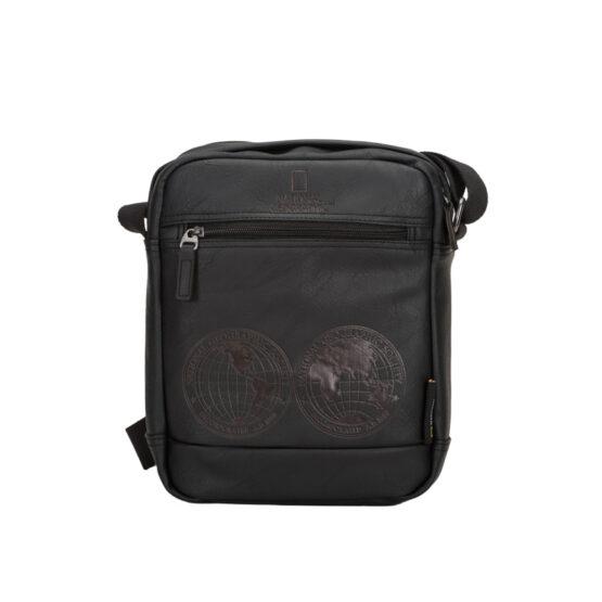 ΤΣΑΝΤΑ ΩΜΟΥ CROSSOVER BAG NATIONAL GEOGRAPHIC N08604-06  BLACK