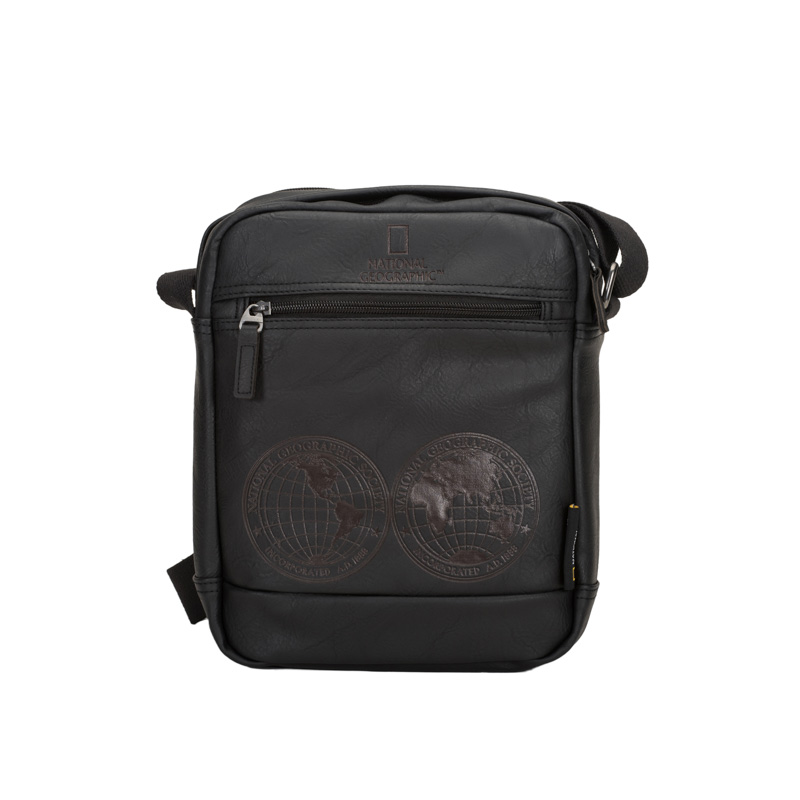 ΤΣΑΝΤΑ ΩΜΟΥ CROSSOVER BAG NATIONAL GEOGRAPHIC N08604-06  BLACK