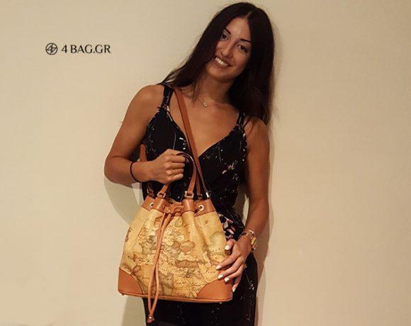 Δείτε την καταπληκτική τσάντα Alviero Martini που μόλις ήρθε στα χέρια μου