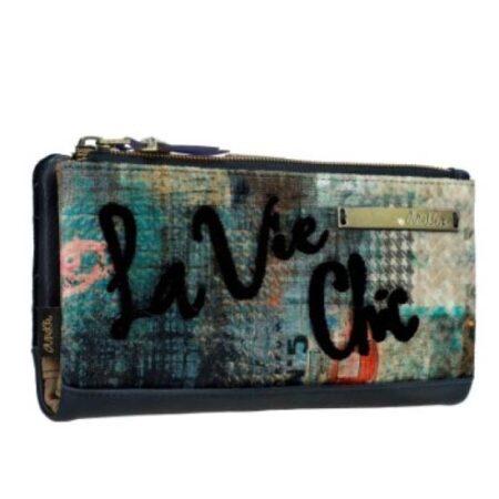 wallet blue azul anekke