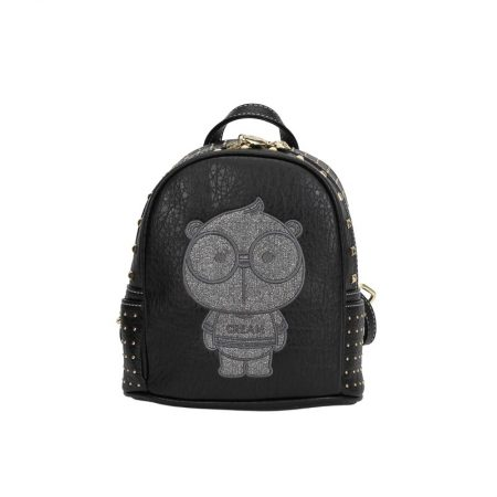 backpack mikro cream bear black