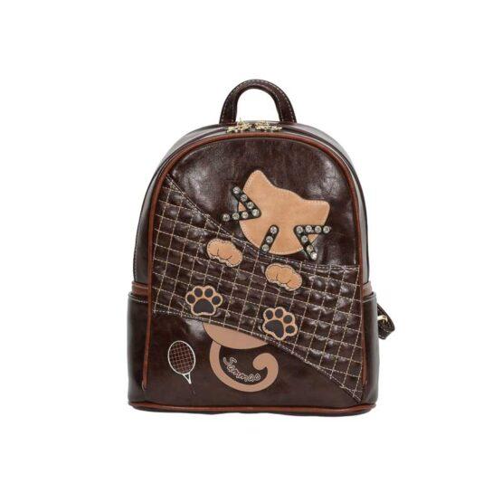 backpack sammao brown