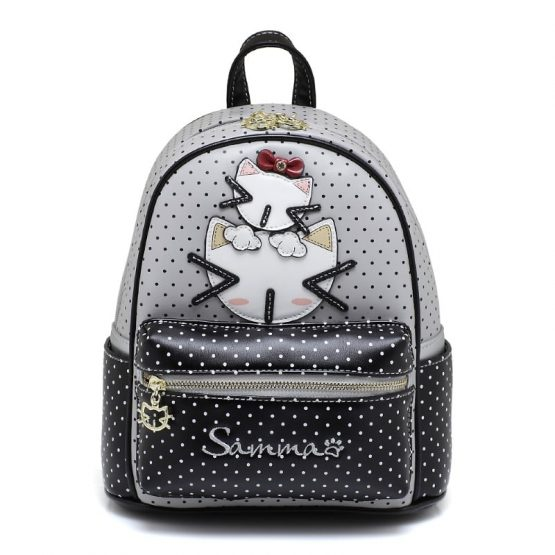 cream bear sammao backpack grey-1