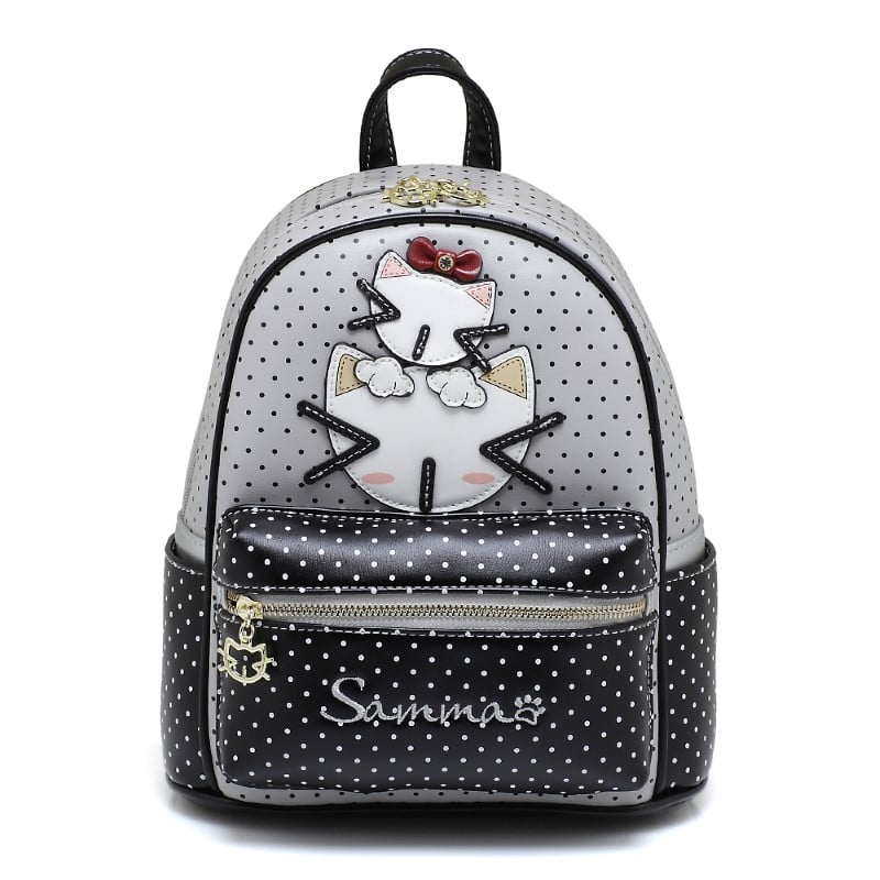 cream bear sammao backpack grey-1