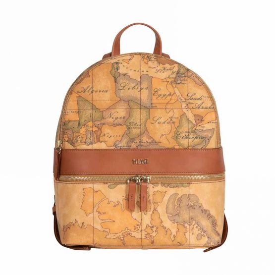 backpack alviero martini beige