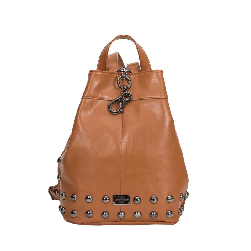 backpack elena athanasiou cognac-1