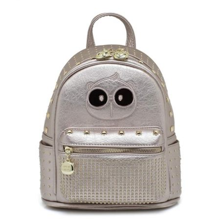 backpack cream bear silver