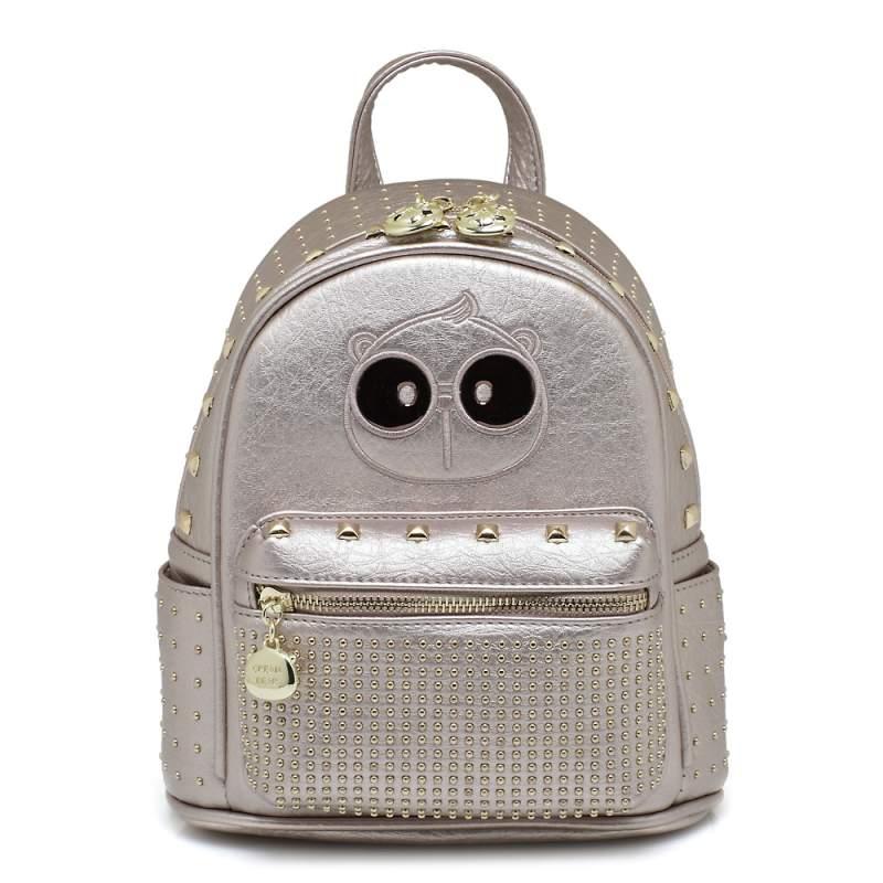 backpack cream bear silver