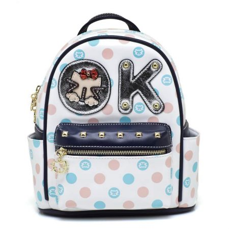 backpack sammao white
