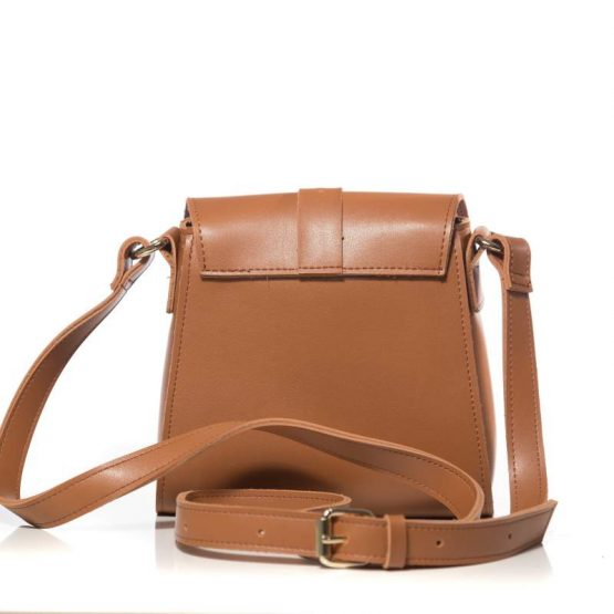 ballerina mini cognac backpack ea-2