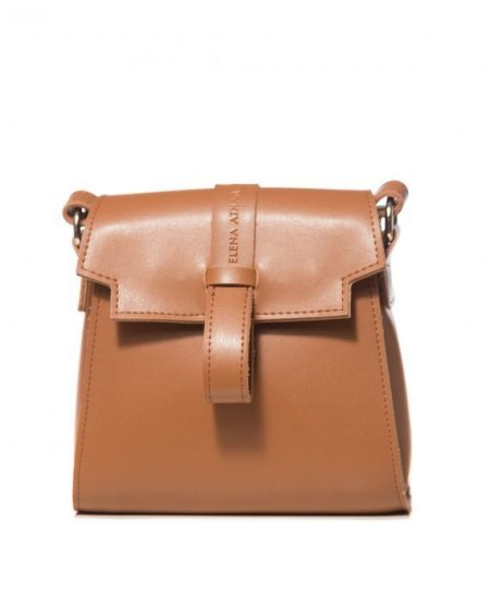 ballerina mini cognac backpack ea