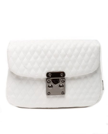belt bag white elena athanasiou
