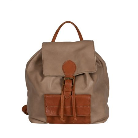 backpack brown italian handmade