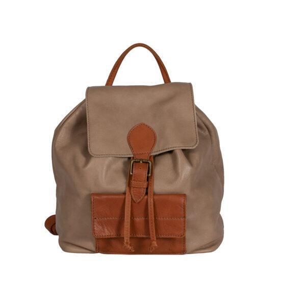 backpack brown italian handmade