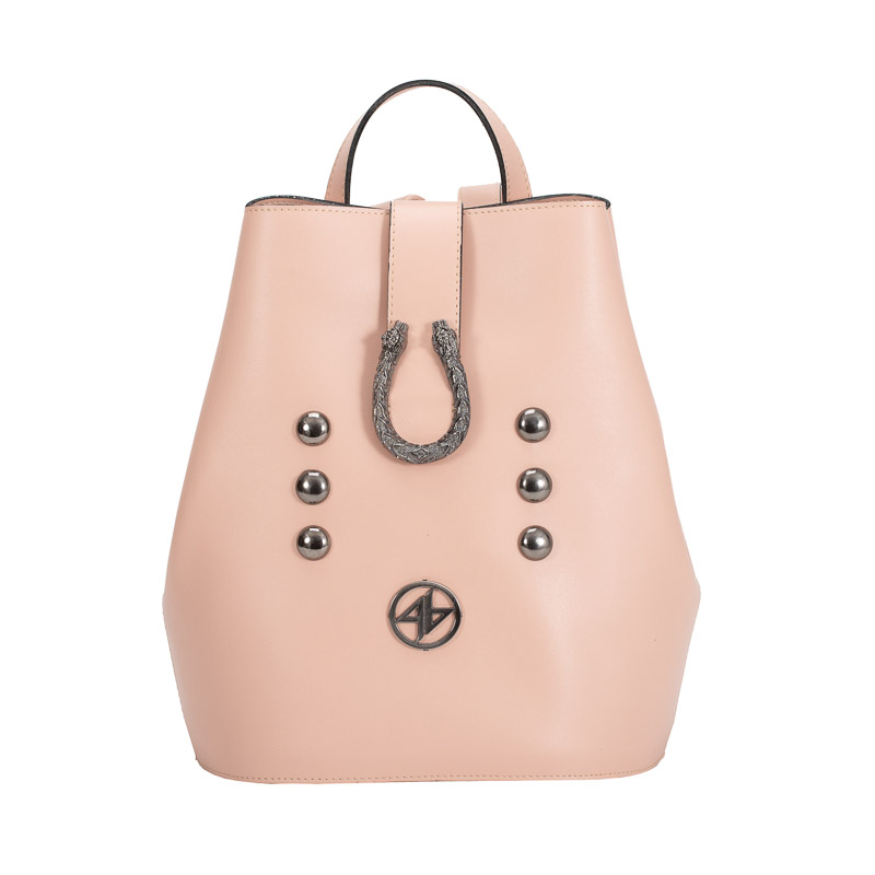 backpack greek handmade pink