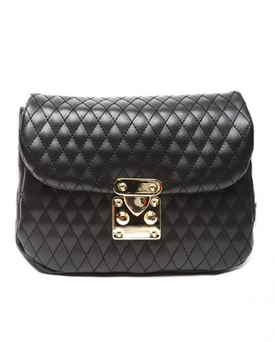 belt bag black gold ea