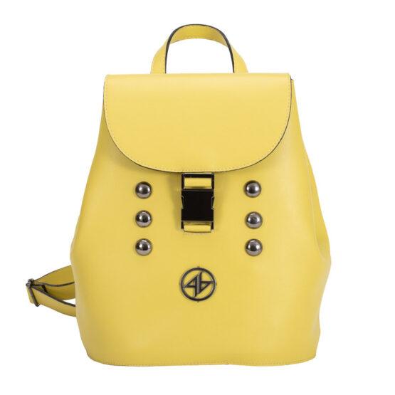 yellow backpack gr.handmade