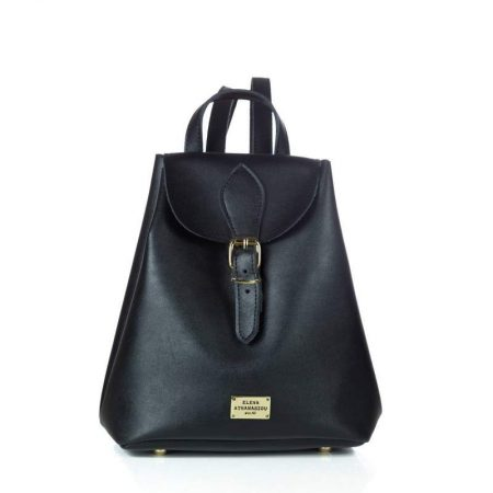 mini backpack black elena athanasiou