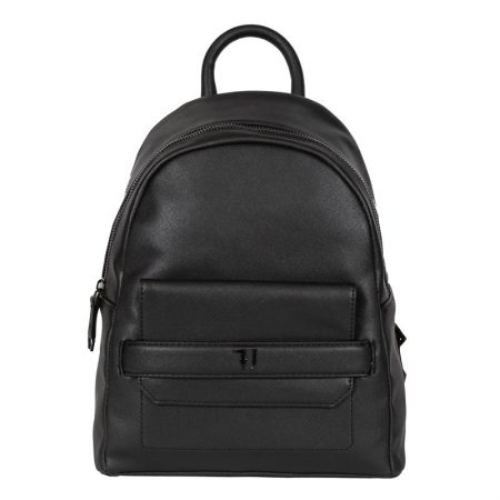 backpack black trussardi jeans