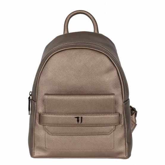 backpack bronze trussardi jeans