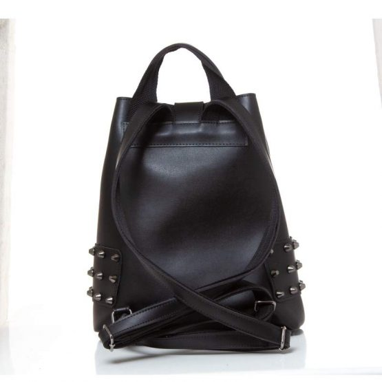 city lady backpack black-2