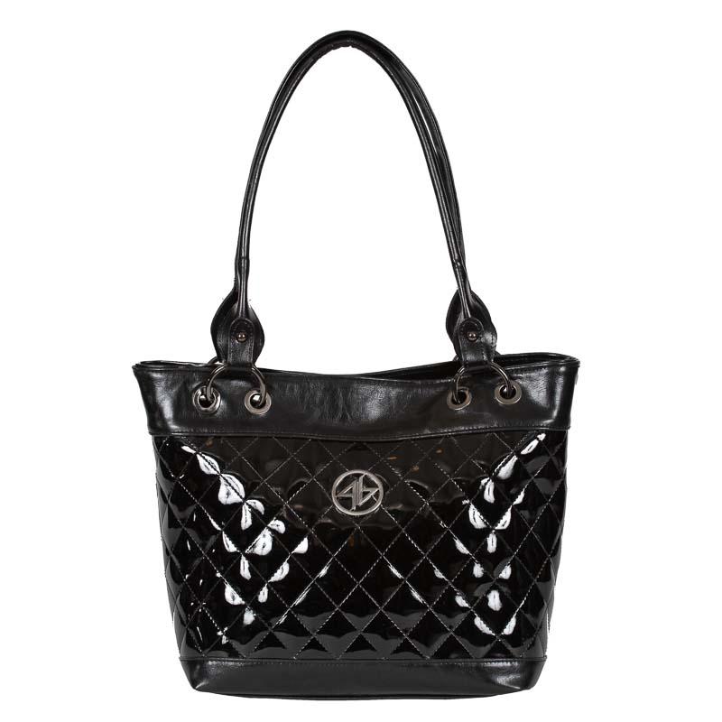 tsanta omou loustrini greek handmade black