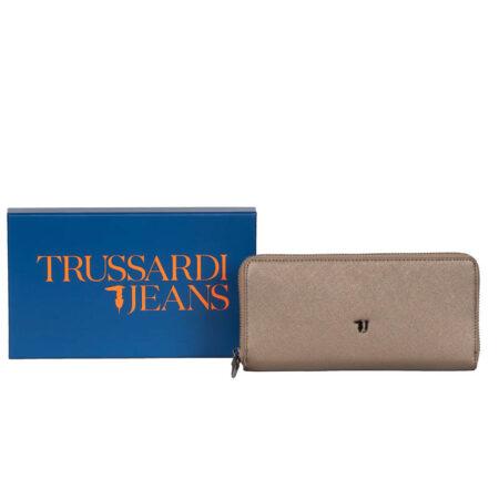 wallet bronze trussardi jeans