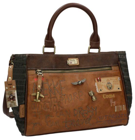 anekke handbag taupe