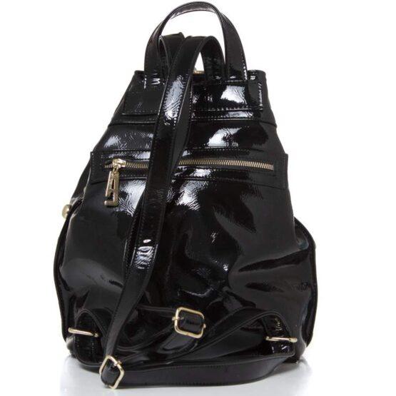backpack vinyl black metal ea-2