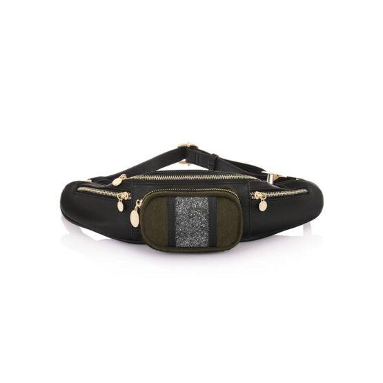 belt bag black LP