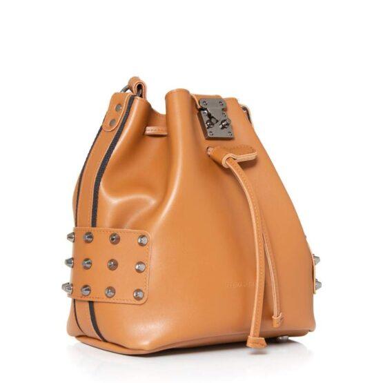 city lady pouch cognac ea-2