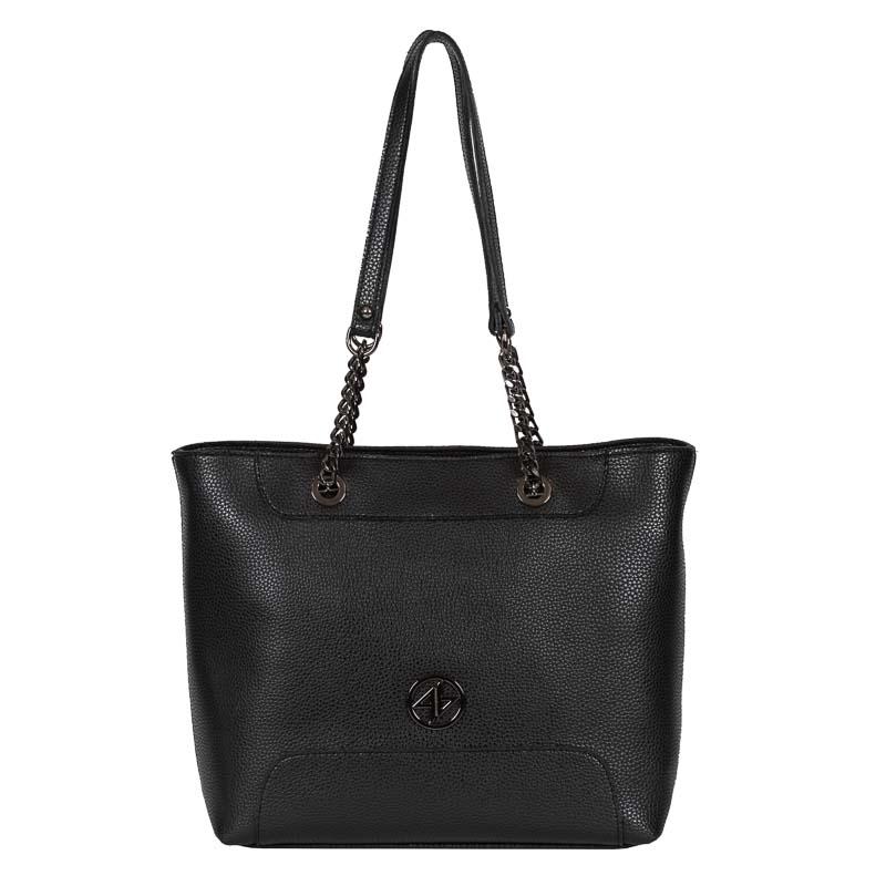 greek handmade bag omou black