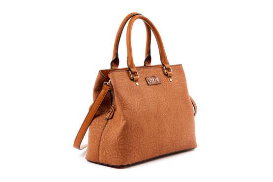 handbag-omou verde-camel