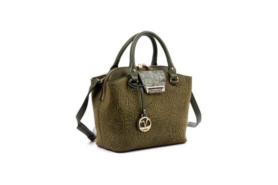 handbag verde olive-v