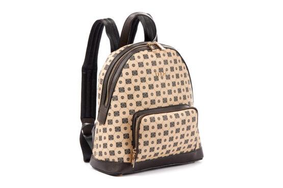 logo backpack camel verde