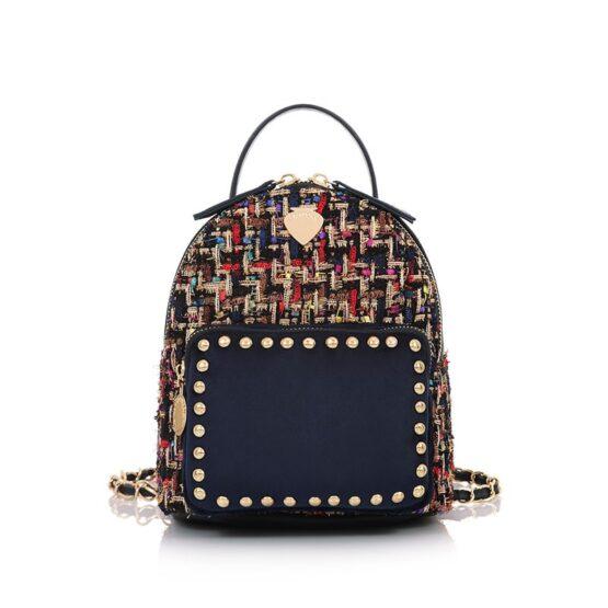 mini backpack wool blue LP