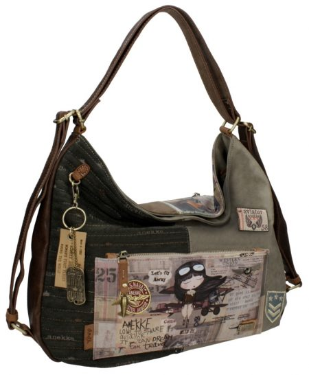 shoulder bag taupe anekke