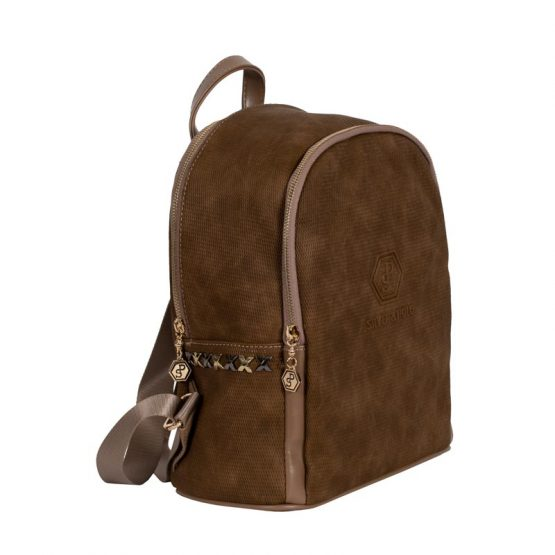 backpack taupe s&p-1