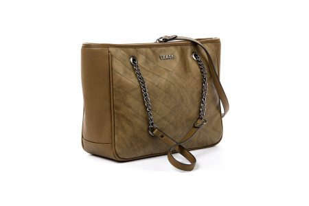 verde shoulder bag khaki