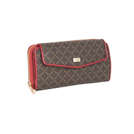 wallet brown- red