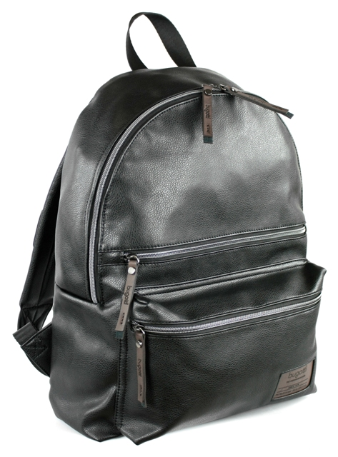 backpack mesaio bugatti black