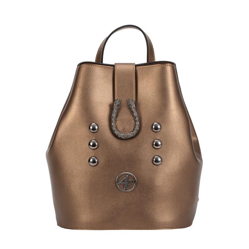 bronze backpack greek handmade