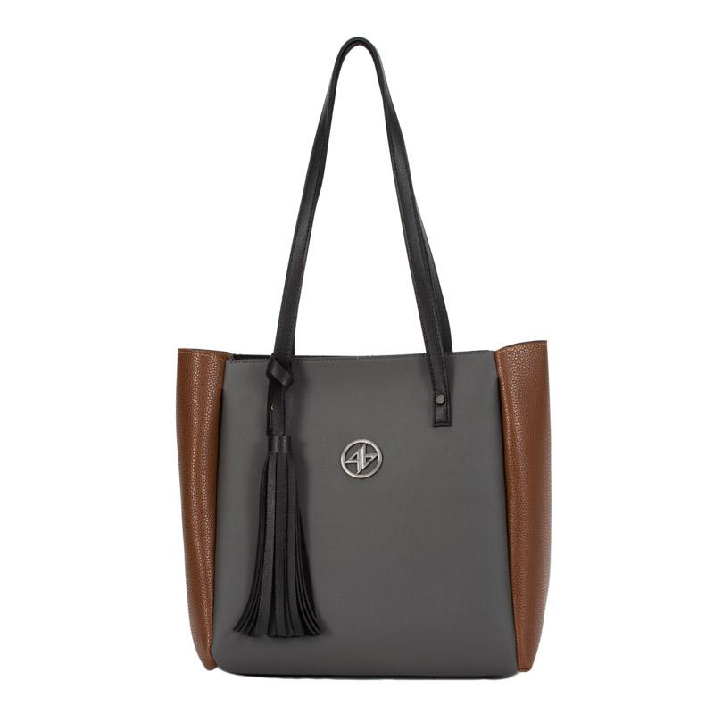 grey bag greek handmade