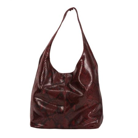 snake bag bordo it
