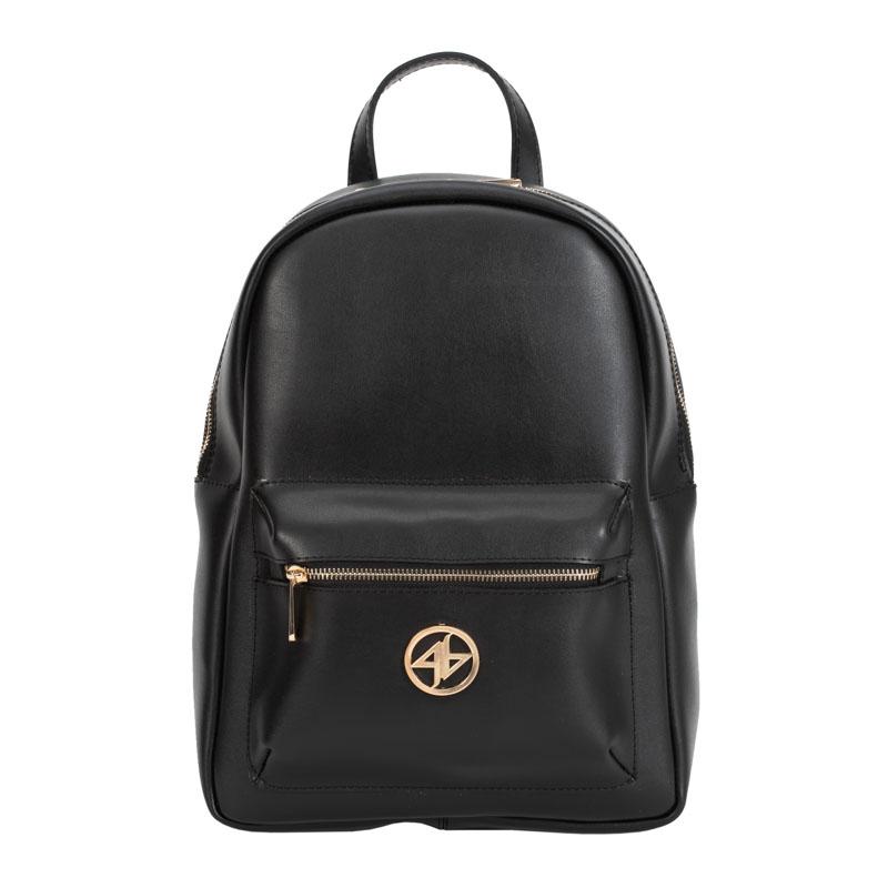 tsanta backpack greek handmade black