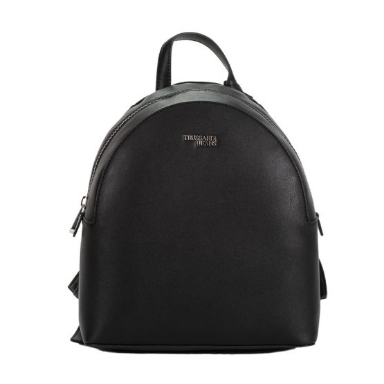 backpack black trussardi