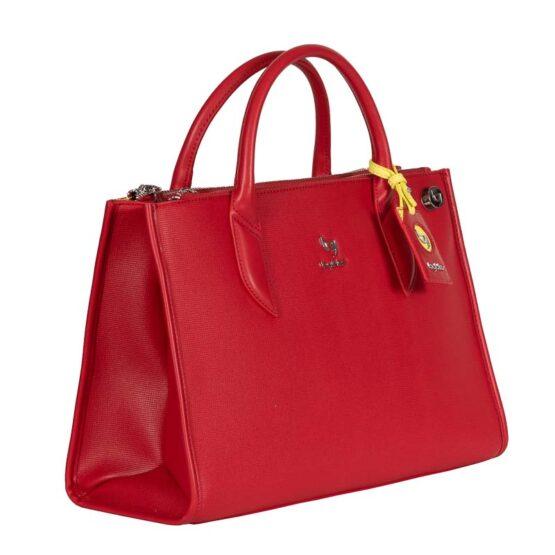 Byblos bag kokkino-1